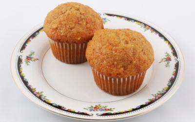 Mrkvové celozrnné muffiny